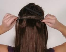 Все про те, як кріпити накладне волосся на шпильках в домашніх умовах фото