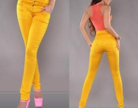 Жовті джинси - must-have сезону літо-2013 фото