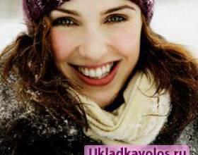 Зимова укладання волосся фото
